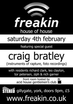 Freakin' February 2012 flyer